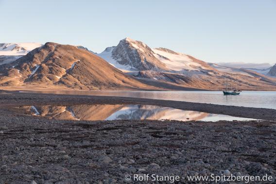 Landschaft Raudfjord Ostseite