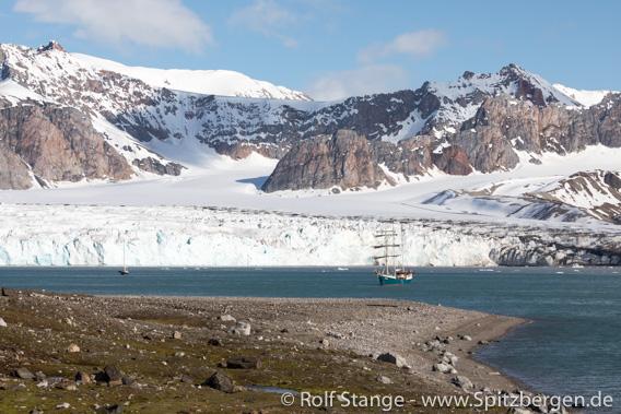 Gletscherfront, Fjortende Julibukta