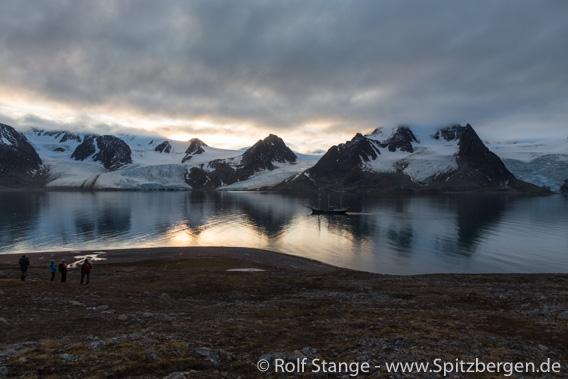 Landschaft Kontraste Raudfjord