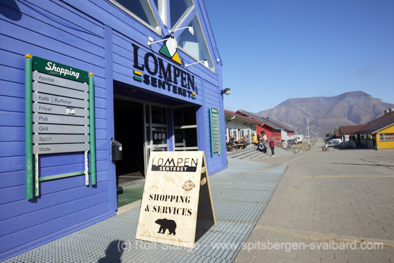 Shopping Lompensenter Longyearbyen