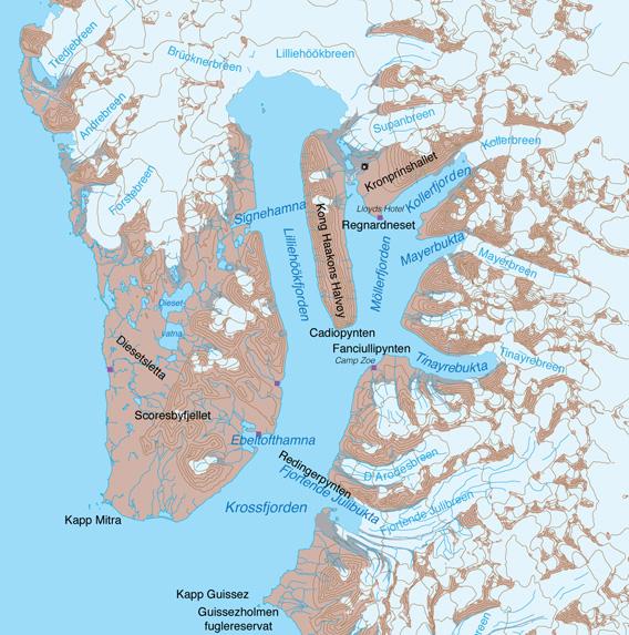 Map Krossfjord