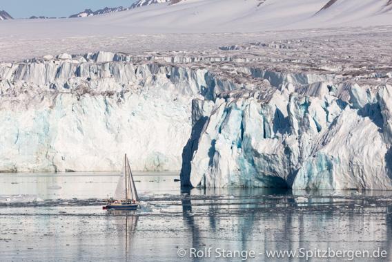Gletscherfront Lilliehöökbreen