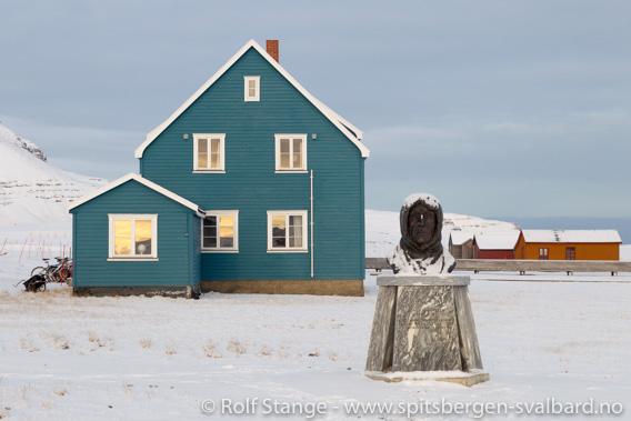 Roald Amundsen, Ny Ålesund