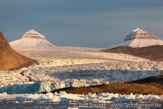 Gletscherfront des Kronebreen, Kongsfjord