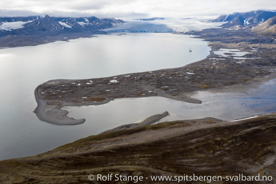Isfjord-Landschaft: Ymerbukta