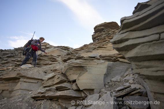 Geologie, Adventfjord