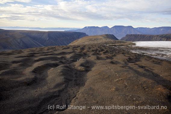 Geologi, Adventfjorden