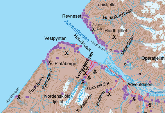 Map Adventjord