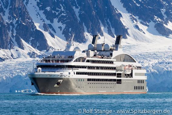Le Boreal, Spitsbergen
