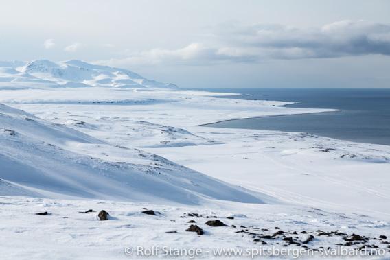 Snøskutertur til Barentsburg: Nordhallet