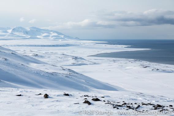 Motorschlittentour nach Barentsburg: Nordhallet