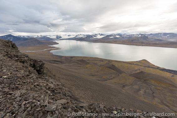 View from Grønfjordfjellet