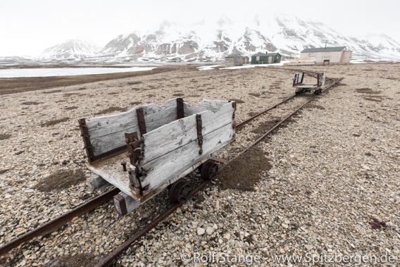 Brucebyen: Schienen, Lore