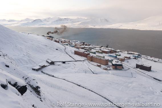 Barentsburg, Grønfjorden