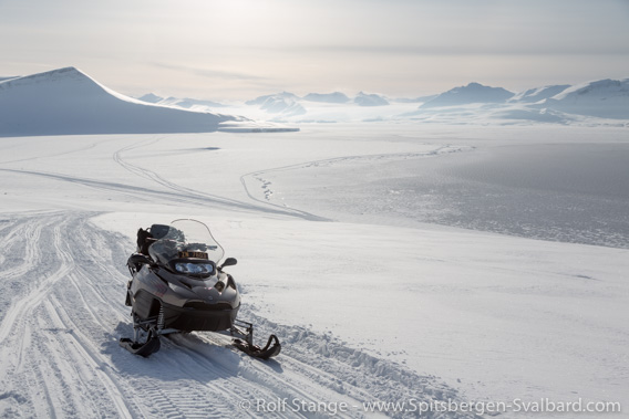 Snow mobile tour, Grønfjord