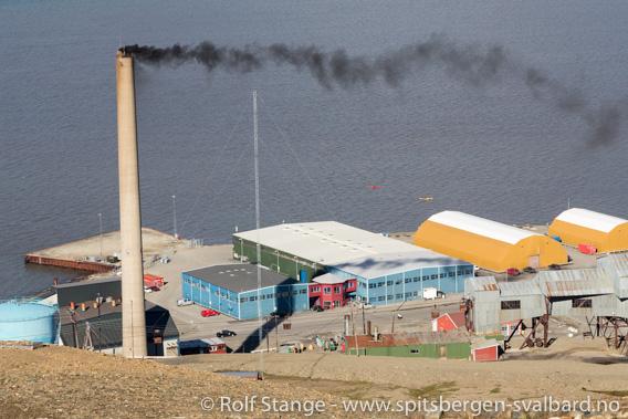 Kullkraftverk, Longyearbyen