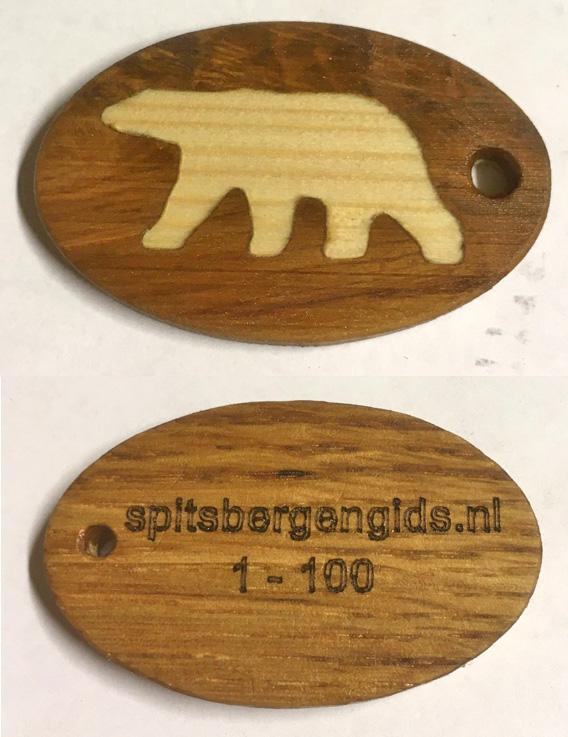 Spitzbergen Reiseführer niederländisch exklusives Geschenk