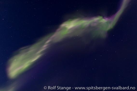 Nordlys Longyearbyen
