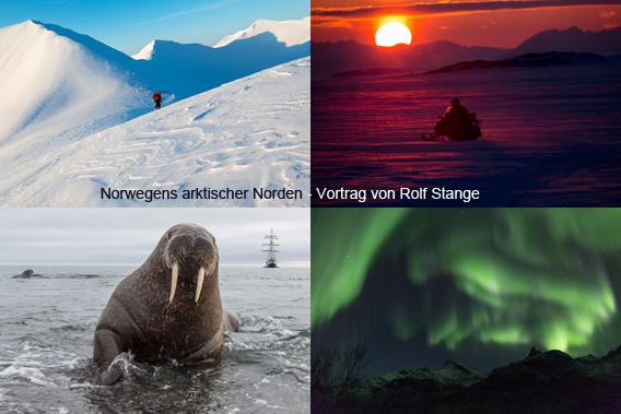 Norwegens arktischer Norden: Spitzbergen-Vortrag von Rolf Stange