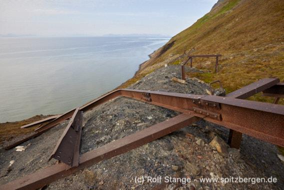 Bahn, Grumantbyen