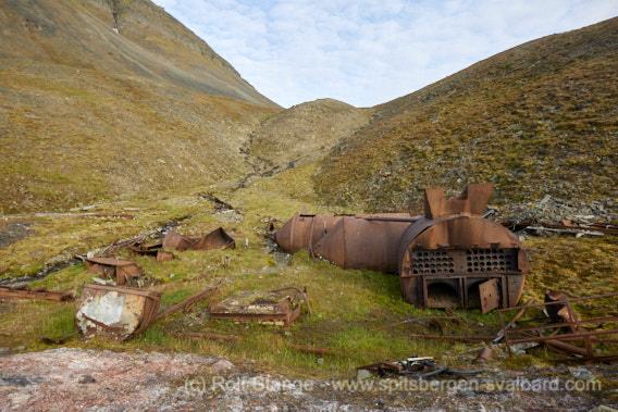 Old tank/boiler
