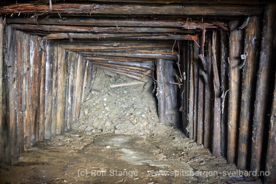 Gammel gruveinngang