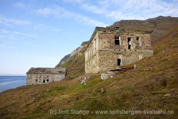 Hus, Grumantbyen