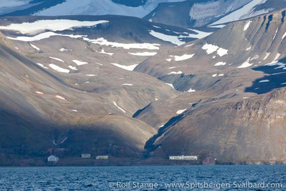 Grumantbyen landscape