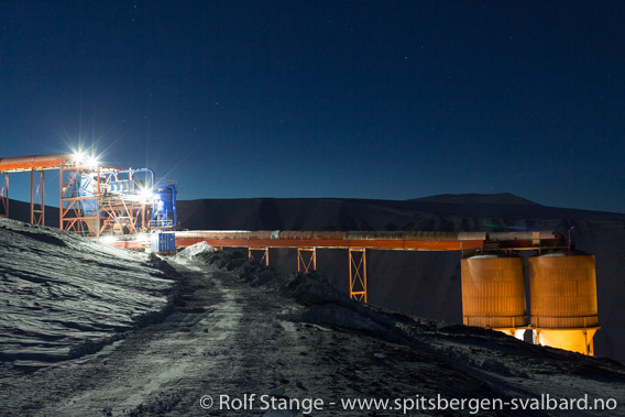Gruve 7 ved Longyearbyen
