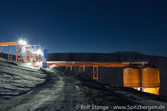 Mine 7 near Longyearbyen
