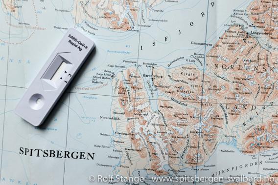 Koronatest, Svalbard