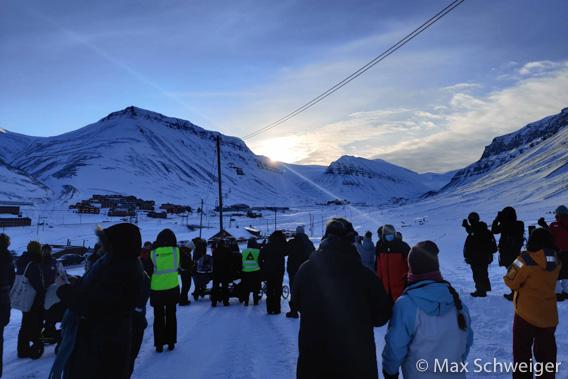 Sonnenfest 2021 in Longyearbyen