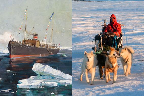 Der arktische Mittwoch: 6 arktische Themenvorträge mit Rolf Stange und Birgit Lutz