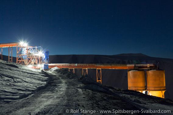 Mine 7: end of coal mining in Spitsbergen in 2028