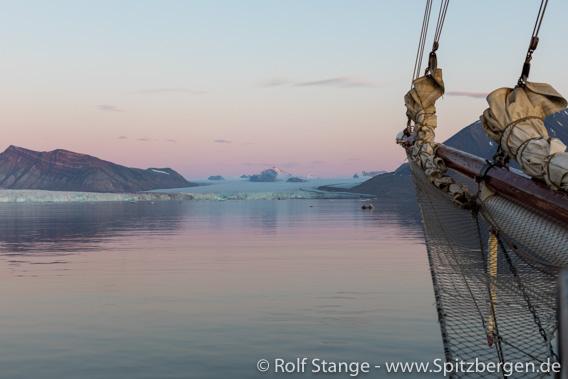 Spitzbergen unter Segeln mit der Antigua