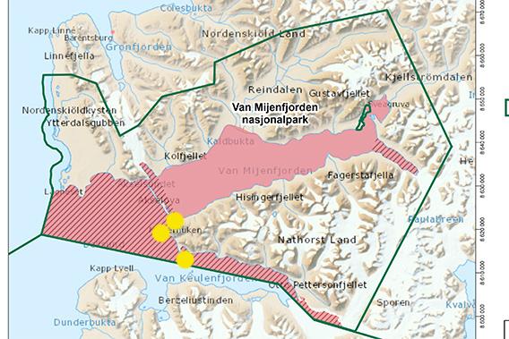 Van Mijenfjorden nasjonalpark