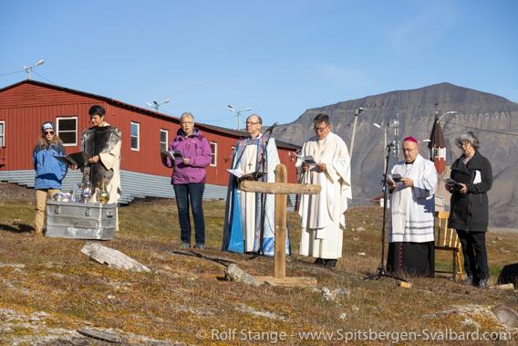100 years Svalbard church