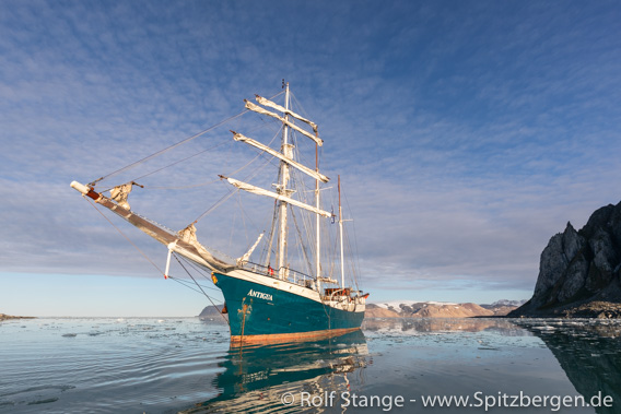 SV Antigua, Spitzbergen 2021