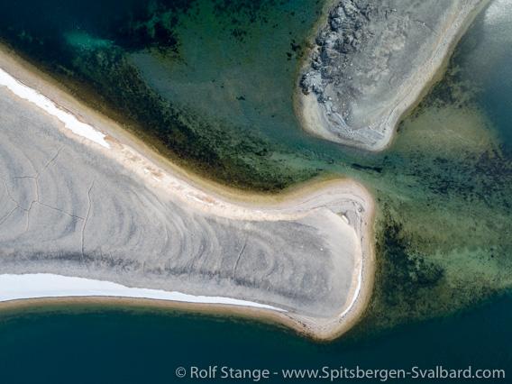 Reliktbukta, Lagune