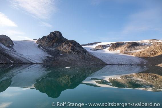 Hamiltonbukta, Raudfjord: schwindende Gletscher