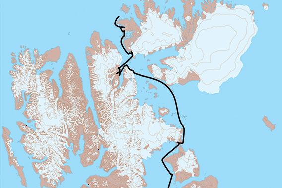 SY Arctica II, Spitzbergen 2021: Karte 3