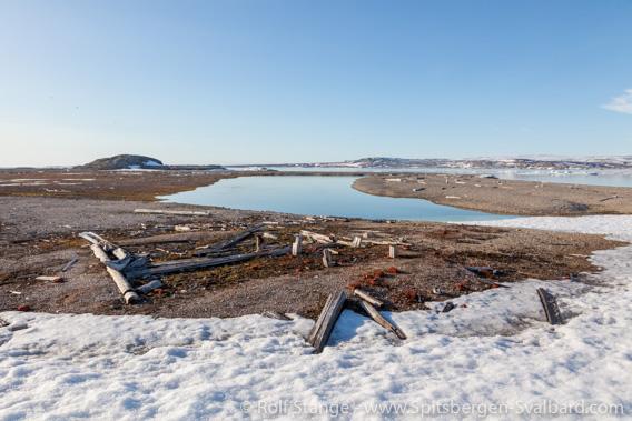Pomorensiedlung, Nordre Russeøya