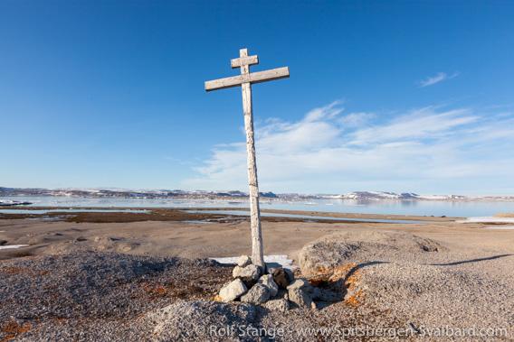 Orthodox cross, Nordre Russeøya